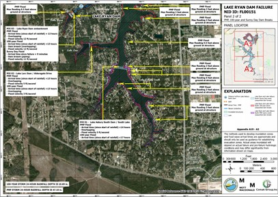 Florida State Dam Break Modelling
