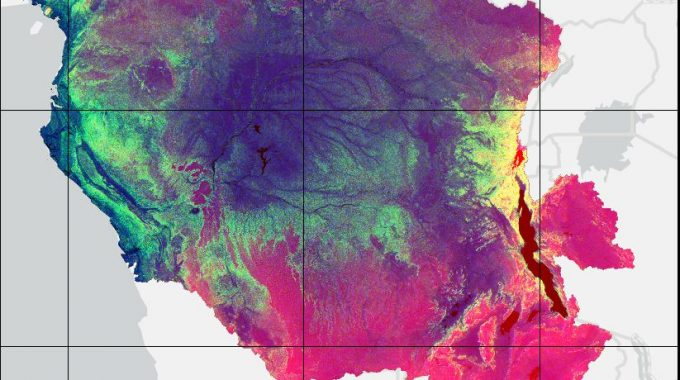 Topographical Analysis On ArcPro For The Congo River Basin